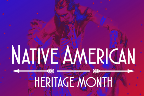 Graphic for Native American Heritage Month from Foothill's website.
