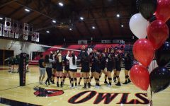 Last Home Game for Foothill College Women's Volleyball Team