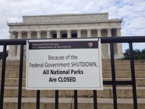 The Lincoln Memorial, which closed during the 2013 government shutdown.