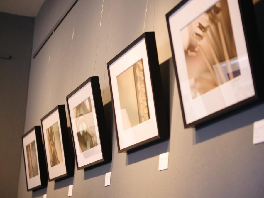 One of the four displays that were featured in the Foothill photography reception on Saturday January 13. The display will remain open through the end of March.