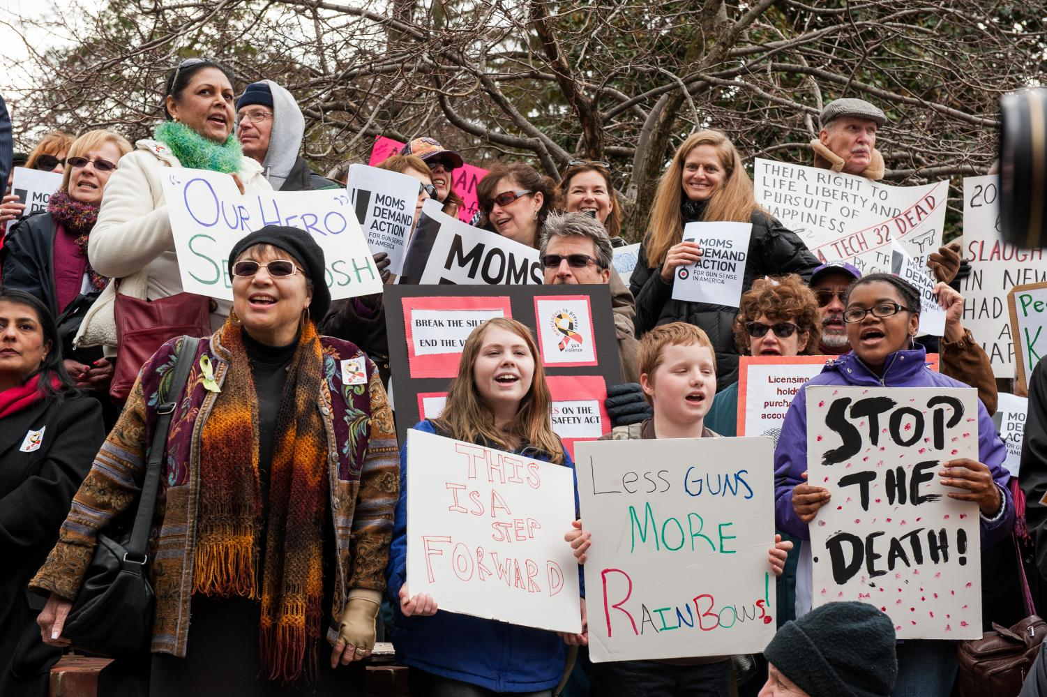 Rally to Prevent Gun Violence at Annapolis, MD via Flickr