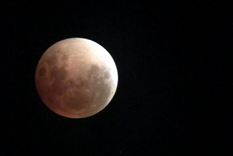 Foothill viewing party celebrates rare blue moon eclipse
