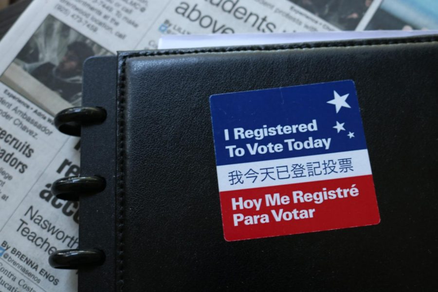 Voter registration deadline in California is May 21