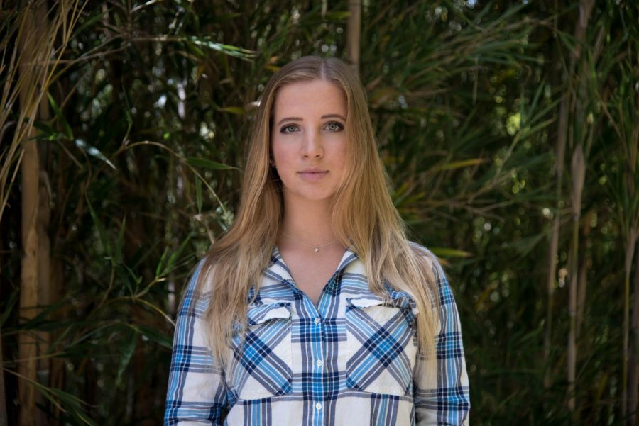Lydia Jungkind poses for a portrait at Foothill College.