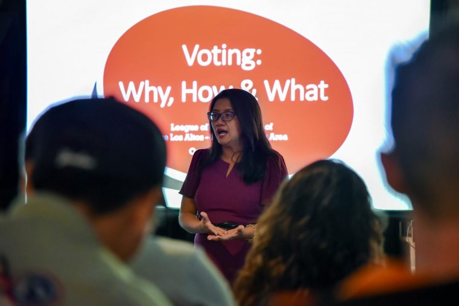 President Nguyen shares the story of her first voting experience.