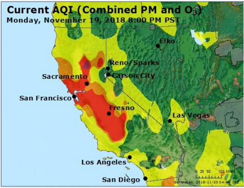 Unhealthy air at Foothill College: The impact of exposure
