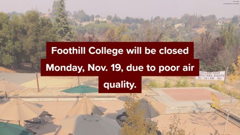 Foothill College campuses will remain closed Monday
