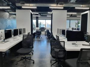 Instead of classrooms, 42 Silicon Valley has a computer lab that's open 24/7.